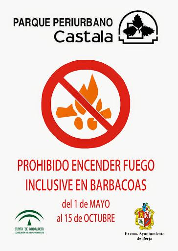 prohibicion fuego castala