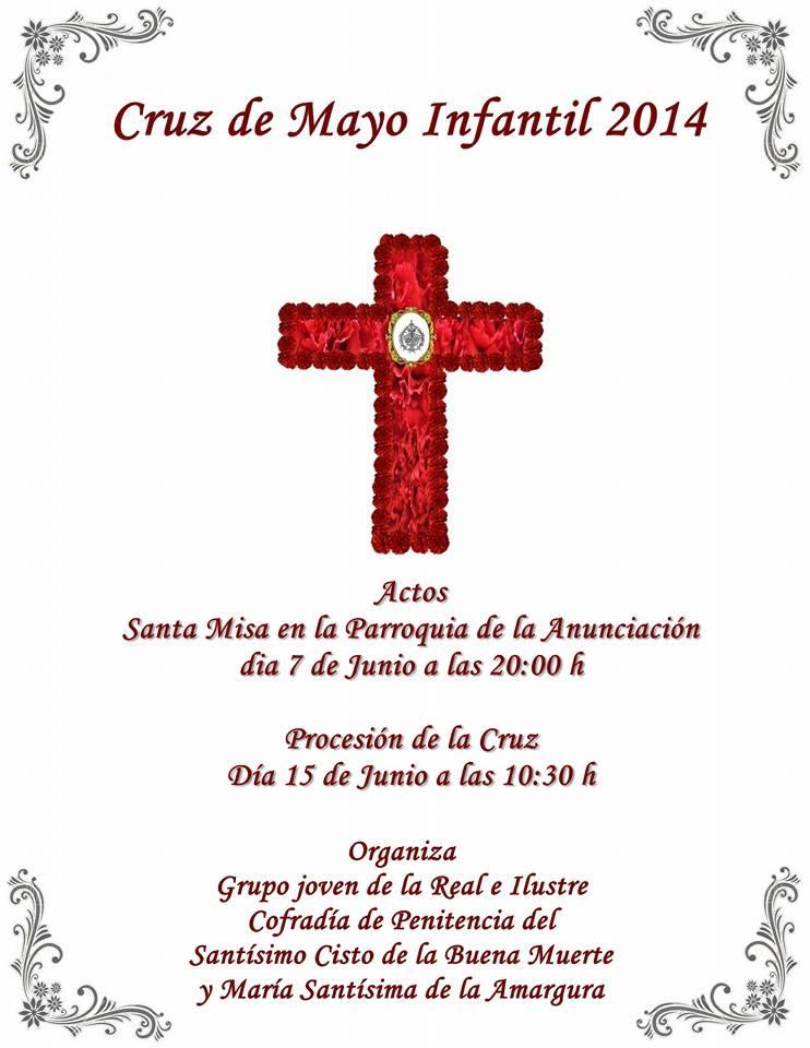 cruz de mayo infantil buena muerte