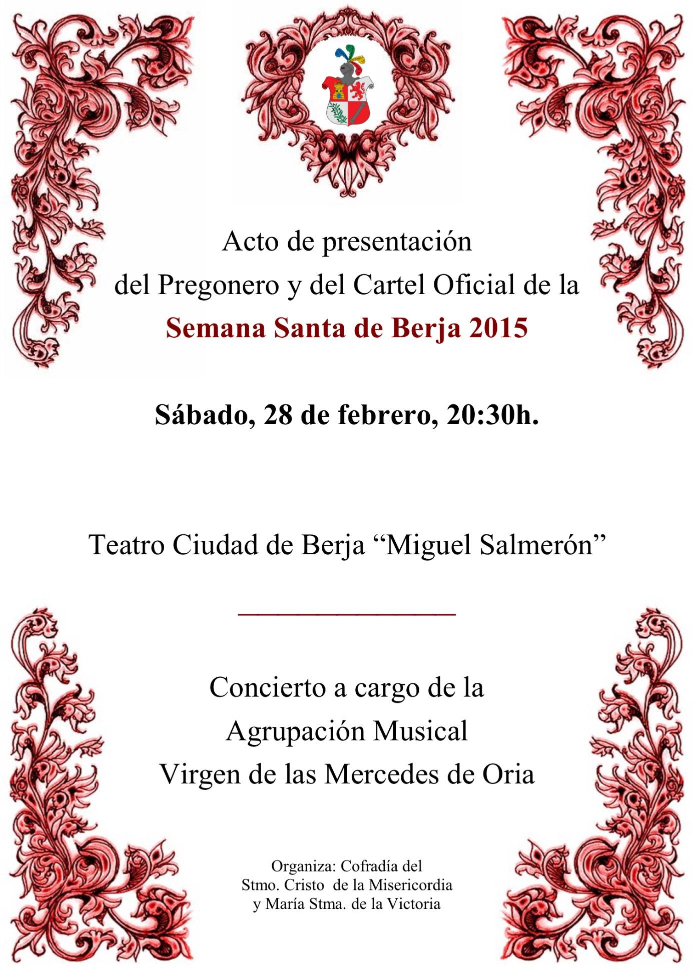 cartel presentacion cartel semana santa