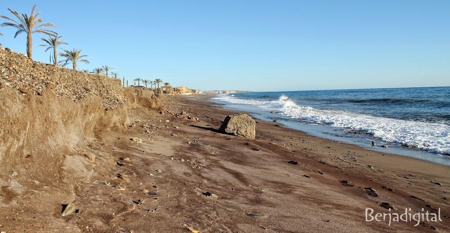 temporal afecta playa balanegra