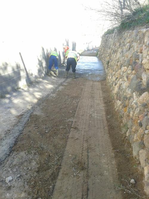 mejora caminos rurales berja