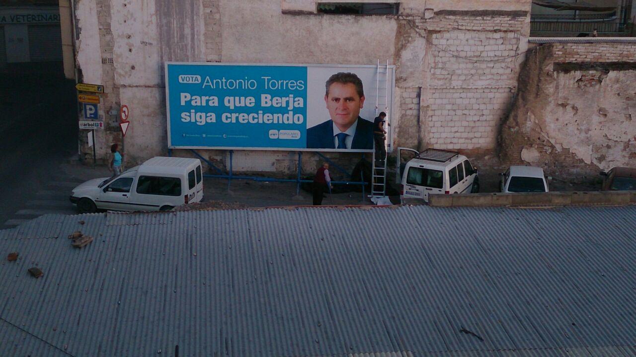 valla pp berja campaña denuncia 2