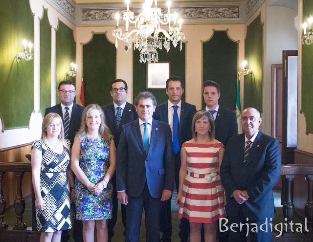 equipo de gobierno municipal berja 2015
