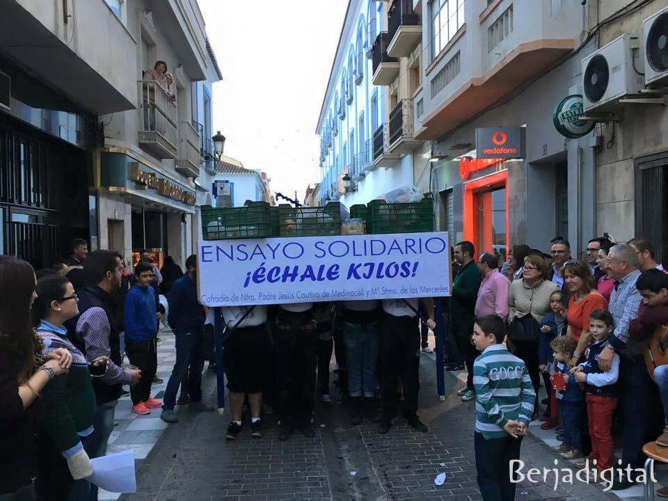 ensayo solidario previo berja