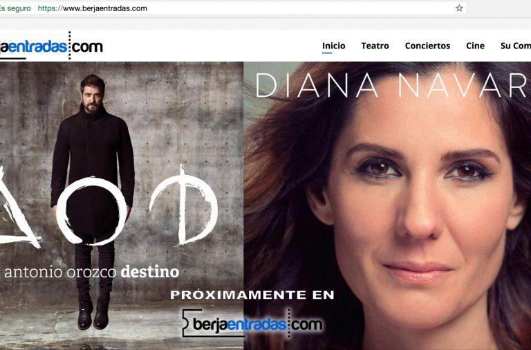 El Ayuntamiento facilita la compra de entradas online a través de berjaentradas.com