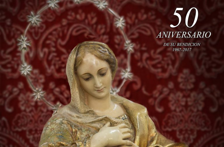 La Inmaculada Concepción procesionará por Peñarrodada el 23 de julio en el 50 aniversario de su bendición