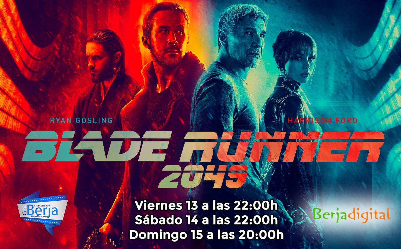 'Blade Runner 2049' se estrena este viernes en el Cine de Berja