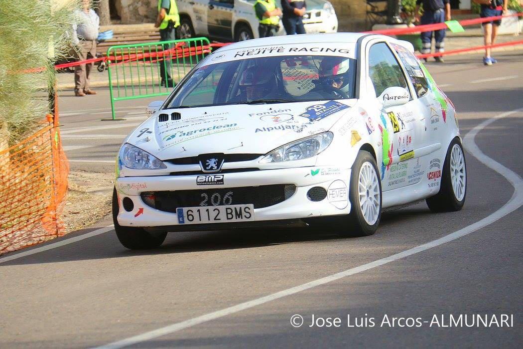 Cristian Parrilla reaparece con el Nejite Racing este fin de semana en la Subida de Macael