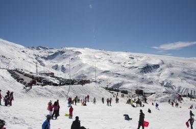 viaje Sierra Nevada esquí Berja