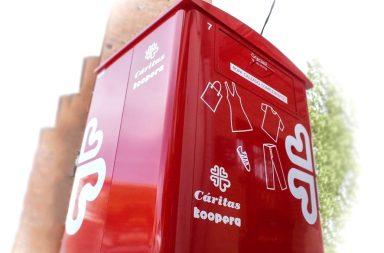 Donacion ropa Caritas Berja