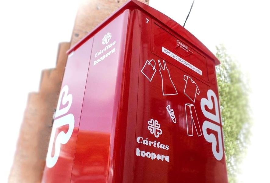 Los virgitanos donaron el año pasado casi 10 toneladas de ropa y calzado a Cáritas