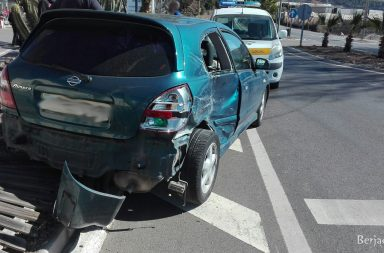accidente Berja
