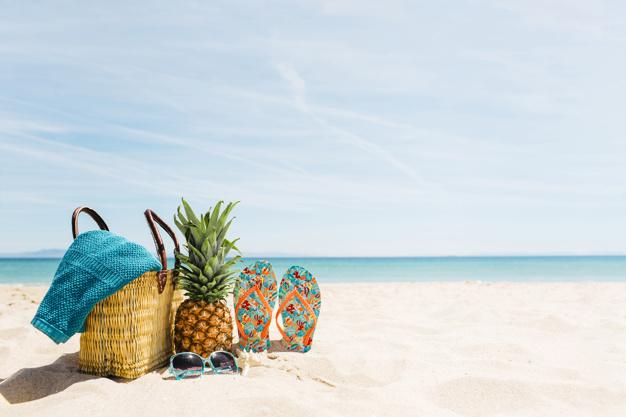 Opciones para comer de manera saludable en la playa