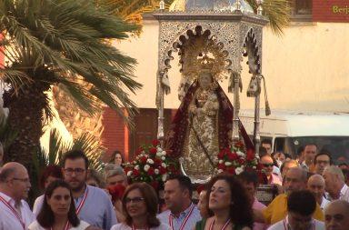 Bajada Virgen de Gádor septiembre 2018