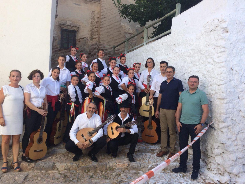 El grupo de música tradicional de Berja consigue el premio a mejor grupo juvenil en el Festival de la Alpujarra
