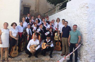 grupo musica tradicional de Berja en el Festival de musica de la alpujarra turon