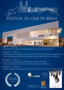 Cartel Festival de Cine de Berja