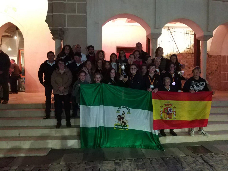 El equipo andaluz de Mafalda Agustín consigue el oro en el Campeonato de España de Raid 2018