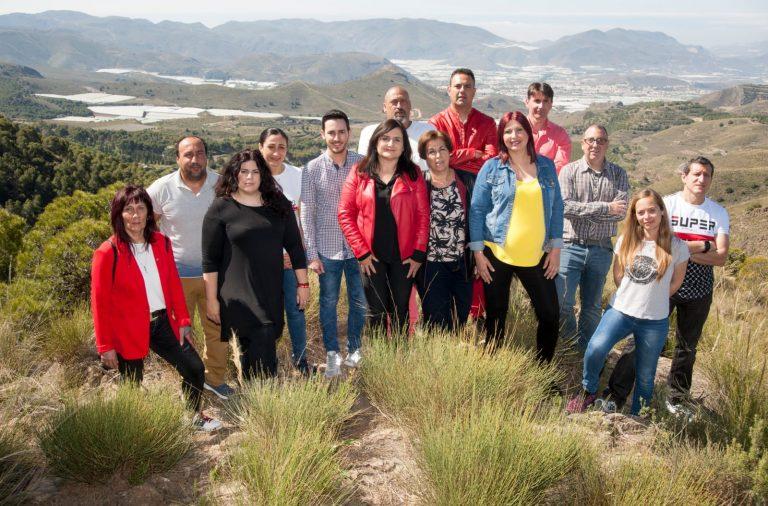 """El PSOE de Berja promete gobernar """"para todos"""" y conseguir """"un salto adelante"""" en agricultura y turismo"""