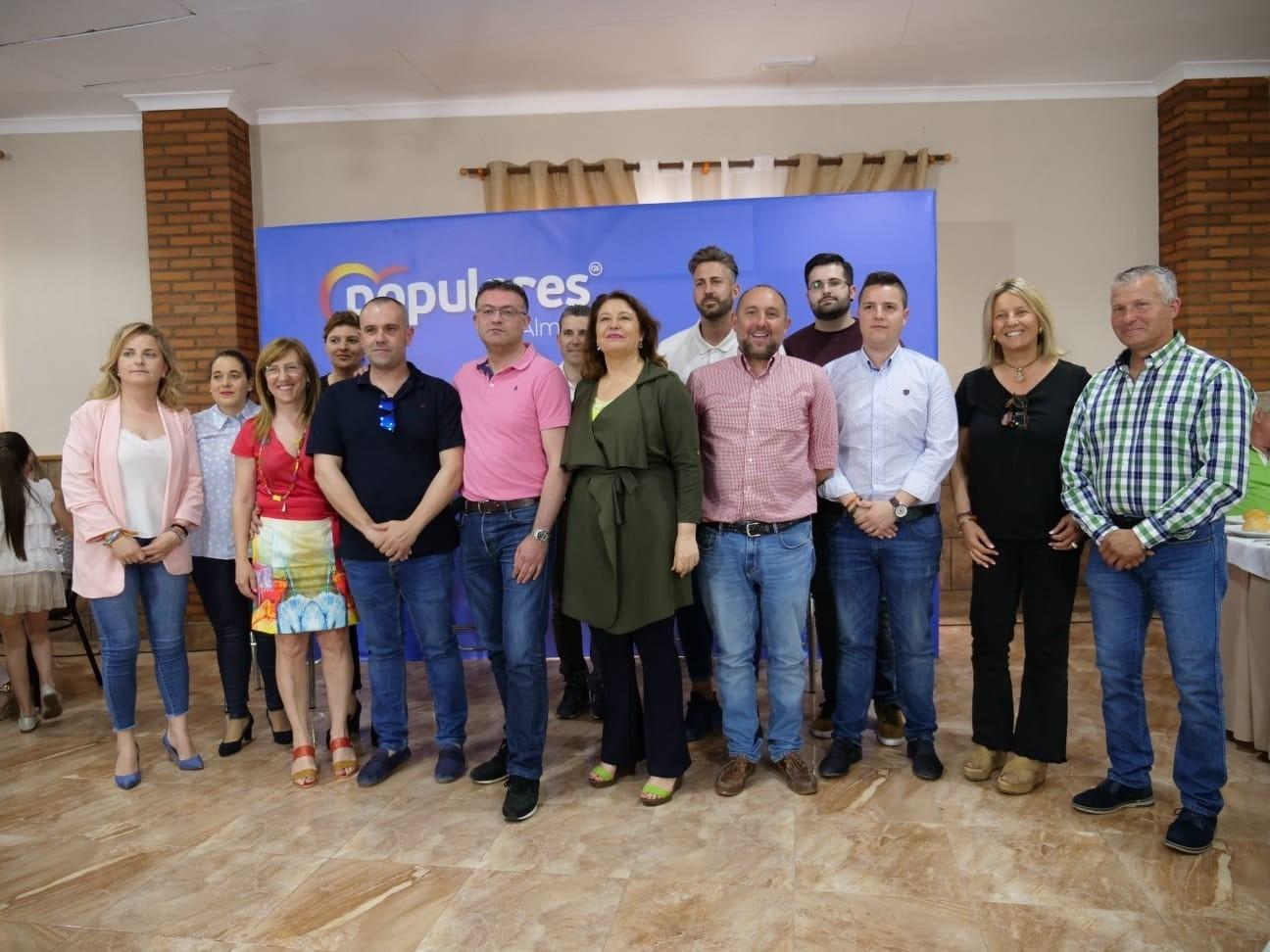 """Crespo y Lupión aseguran que trabajarán por los agricultores de Berja para """"solventar retos del sector"""""""