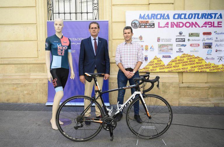 'La Indomable' difunde internacionalmente La Alpujarra como destino deportivo