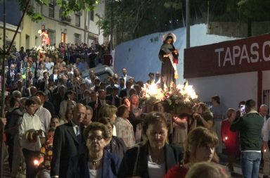 procesion san isidro y santa rita berja
