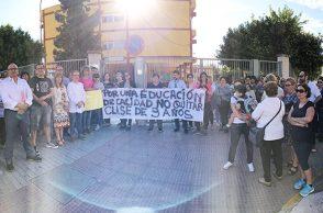 protestas celia viñas cierre tres años berja